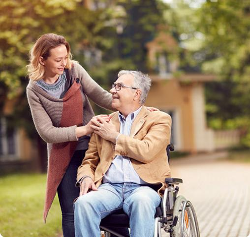 Garde personnes handicapée à La louvière